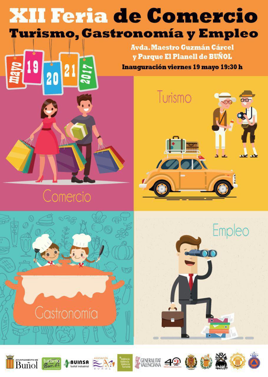 La XII Feria del Comercio, Turismo, Gastronomía y Empleo de Buñol ultima todos los detalles para continuar siendo referente en toda la Comunitat